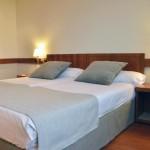 Detalle camas habitación doble